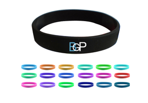 Custom Silk Screen Silicone Bracelet