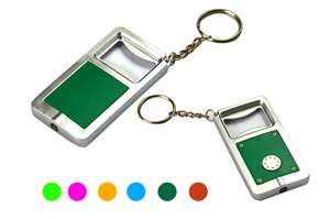 Custom Promotional Bottle Opener Keychain Key Ring