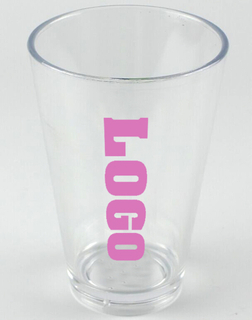 Custom Promotional 20 oz Plastic Party Stadium Cup
