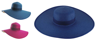 Fashionable Beach Sun Protection Custom Full Color Floppy Straw Hat