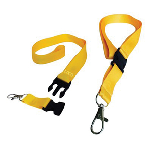 "Custom Promotional Outdoor Flat 4/5"" Lanyard Keychain ID Holder"