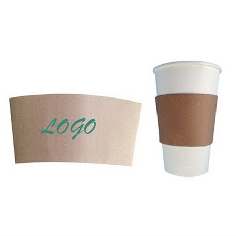 Custom Full Color Logo Coffee Cup Bottle Sleeve