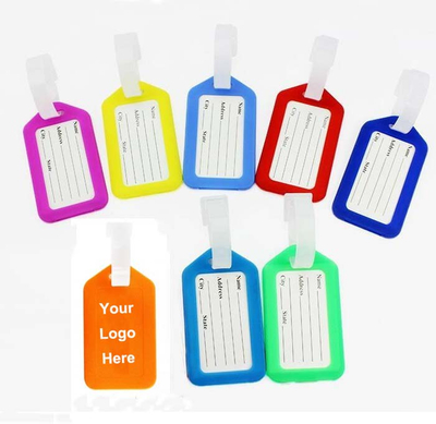 Custom Neon Boarding Luggage Tag Holder
