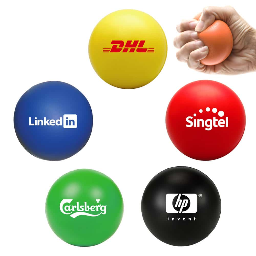 Custom Round Foam Stress Ball