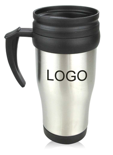 15 Oz. Sporty Double Wall Stainless Steel Travel Mugs