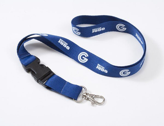 "Personalized 1"" Custom Detachable Lanyard Key Chain"