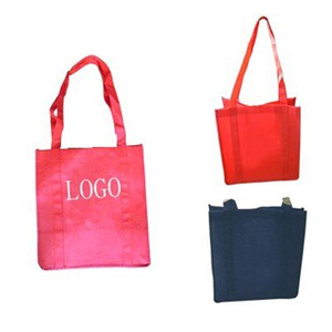 Custom Eco-friendly Reusable Non-Woven Tote Shopping Bag