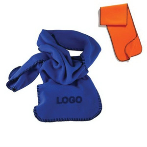 Custom Promotional Fleece Scarf