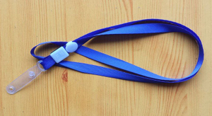 Custom Color Polyester Lanyard with Clip