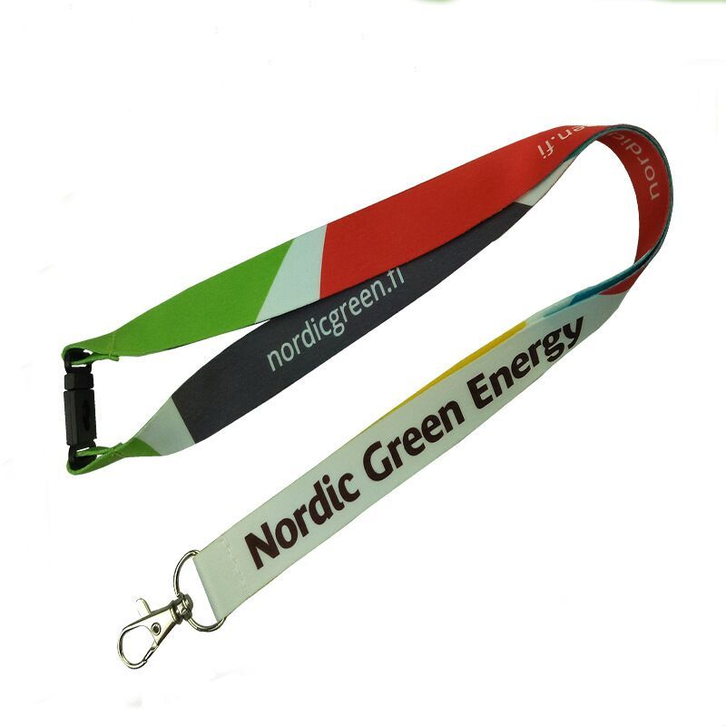 Full Color Imprint Polyester Lanyard