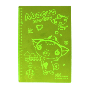 Personalized Full Color Plastic A4 Writing Pad