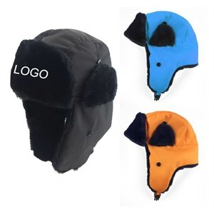 Promotional Adult Winter Snowboard Bomber Hat