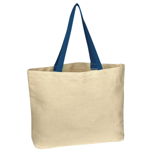 Natural Cotton Canvas Tote Bag