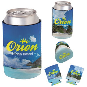 Full Color Imprint Collapsible Foam Koozie® Can Kooler