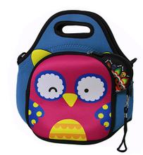 Stylish Children Neoprene Lunch Carry Shoulder Bag