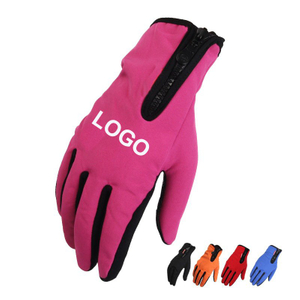 Imprinted Outdoor Waterproof Anti-slip Touch Screen Gloves
