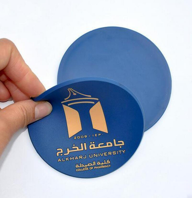 Promotional Thicker Silicone Coaster Pad
