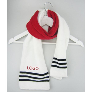Customized Acrylic Knitted Winter Scarf