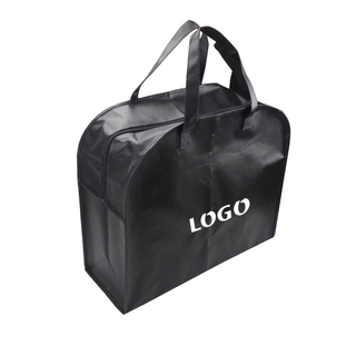 Promotional Zippered PP Non-Woven Travel Bag