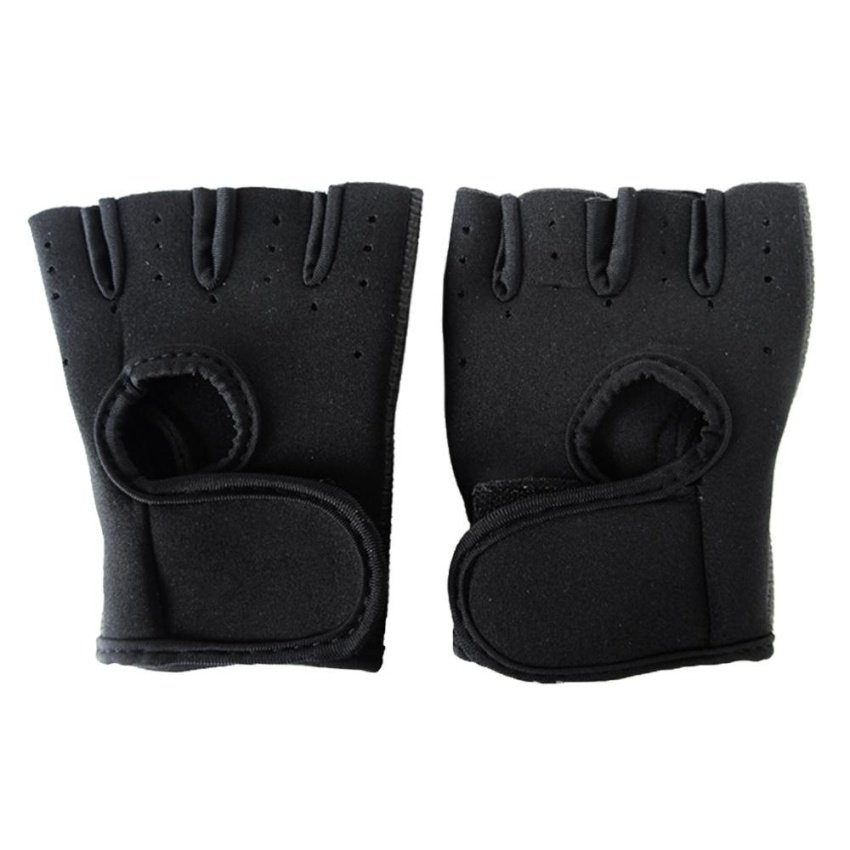 Custom Half Finger Cycling Gloves
