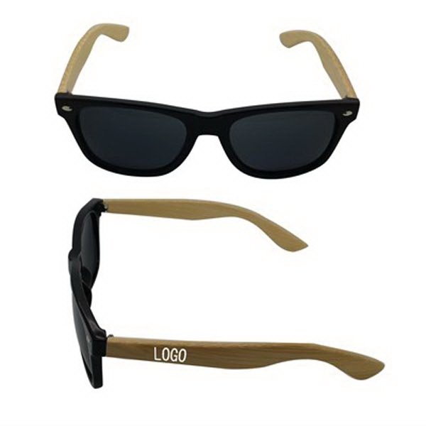 Customized Sunglasses With Bamboo Arms
