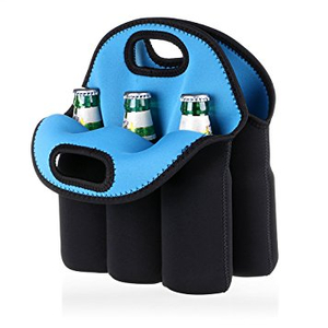 6 Pack Neoprene Wine Bottle Cooler