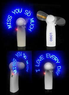 Customized LED Smart Message Fan