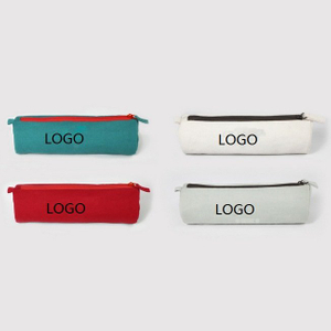 Promotional Canvas Stationery Pencil Case