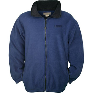 Embriodered Fleece Jacket