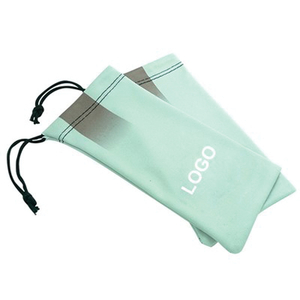 Wholesale Type Microfiber Eyeglasses Pouch With Drawstring