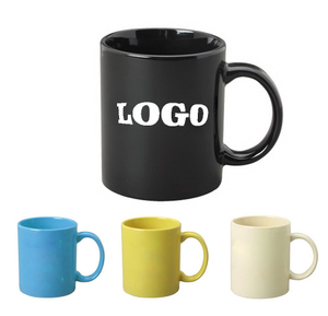 Colored Custom Coffee Ceramic Mug 11oz