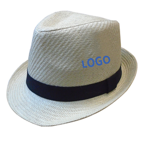 Fashion Straw Fedora Hat