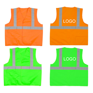 Imprinted High Visibility Reflective Safety Vest