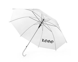 Imprinted Plastic Transparent Umbrella