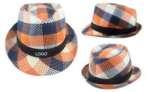 Fashion Twisted Straw Fedora Hat