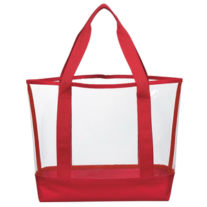 Transparent PVC Waterproof Travel Tote Bag
