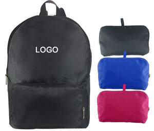 15.8H x 11.5L Inch Portable Folding Backpacks