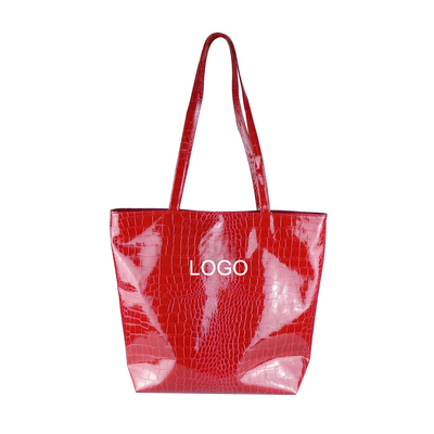 Promotional Lady's PU tote bag
