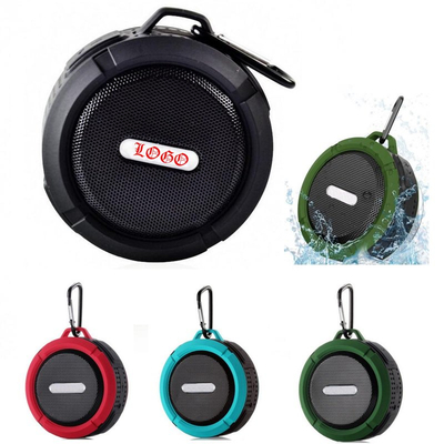 Customized Waterproof Wireless Mini Speaker with Carabiner
