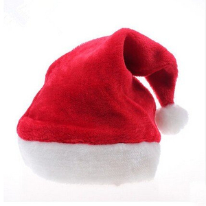 Personalized Red Plush Santa Hat
