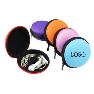 Custom EVA Pocket Storage Case for Earphone Coin Cable