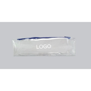 Custom Clear PVC Zipper Pencil Bag Pouch