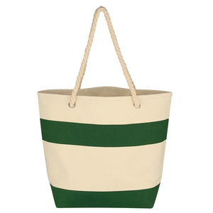 Cruising Tote Bag With Rope Handles