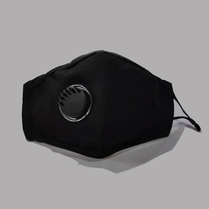 Reusable Cloth Face Mask With Valve