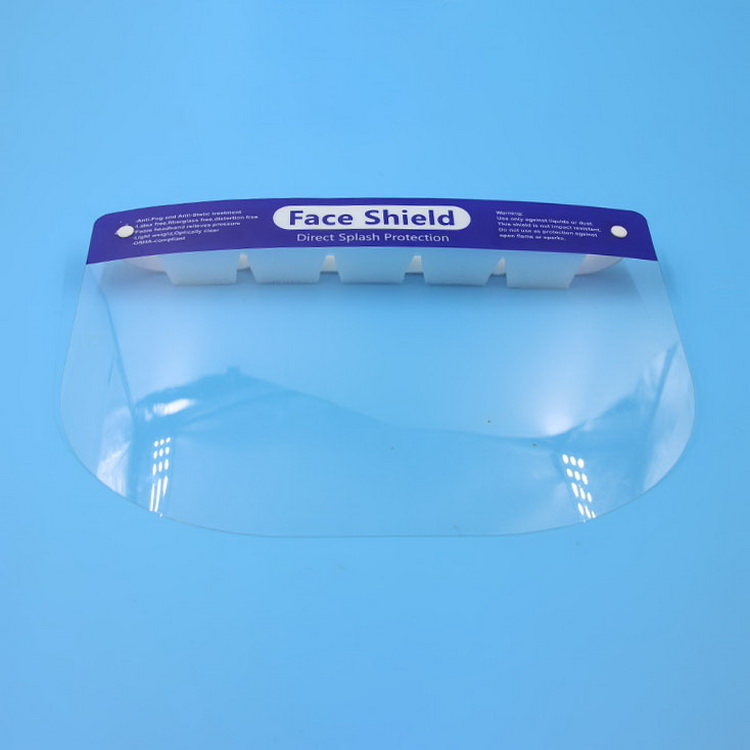 Transparent Antibacterial Disposable Protective Face Shield